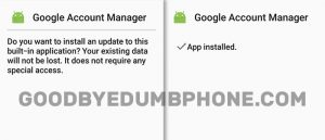 Google Manager Account Screenshots