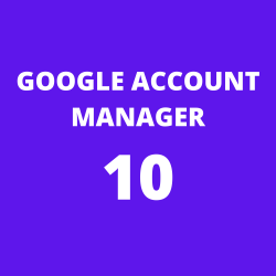 Google Account Manager 10