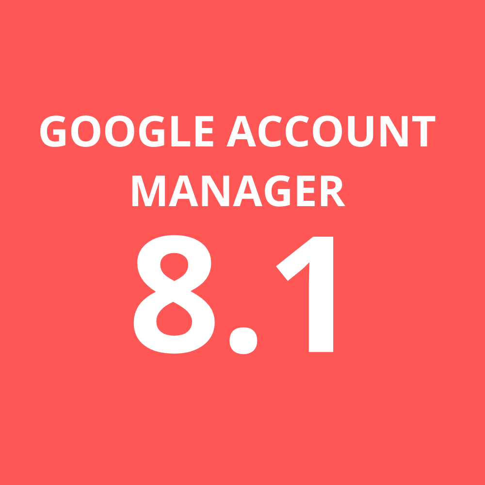 Google Account Manager 8.1
