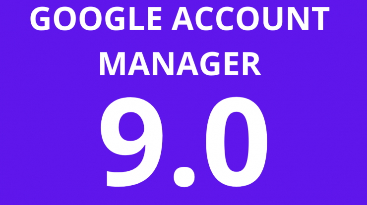 Google Account Manager 9.0 Apk