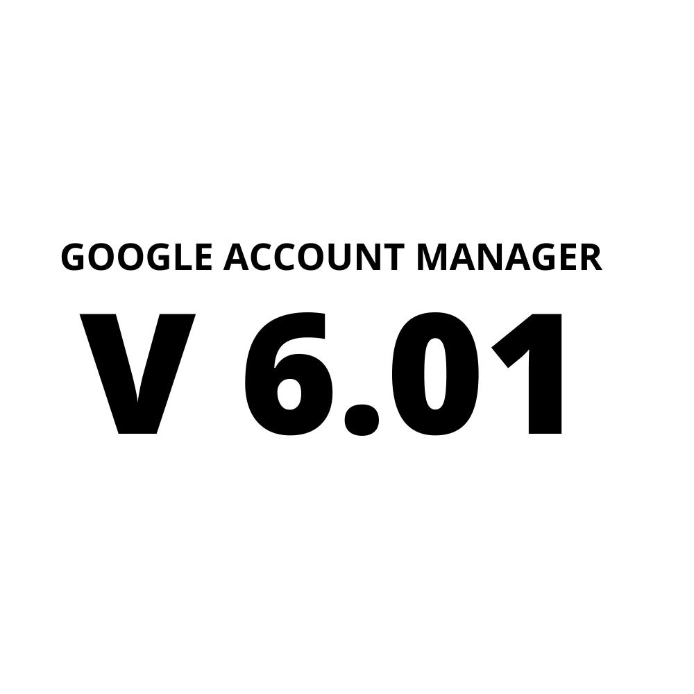 Google Account Manager 6.01 Apk