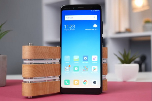 Appearance of Redmi Note 5